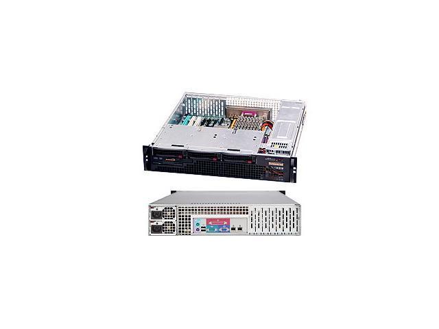 SUPERMICRO CSE-825MS-R700LPB Black 2U Rackmount Server Case 700W Redundant