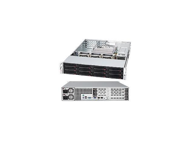 SUPERMICRO CSE-836E2-R800B Black 3U Rackmount Server Case 800W Redundant