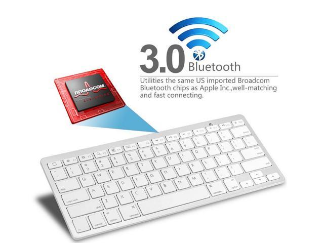 2015 Hot Sale Bluetooth Wireless Keyboard for PC Macbook Mac For ipad 3 4 For iphone For Windows XP 7 8