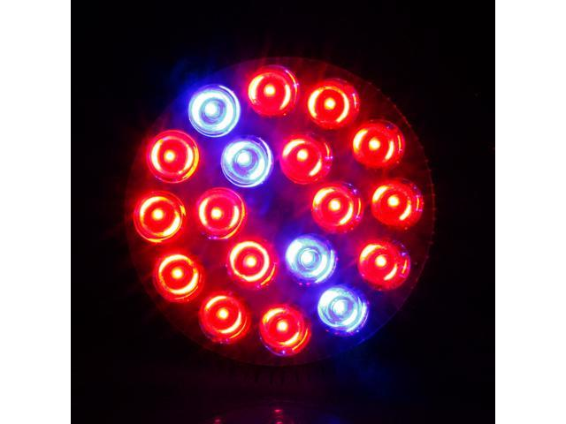 2014 Newest E27 54W 85-265V High Power 14Red:4Blue LED Grow Light for Flowering Plant and Hydroponics System