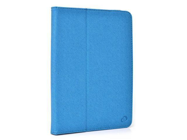 Kroo Blue Universal Folio Case with Camera Fold for AZPEN A727 7