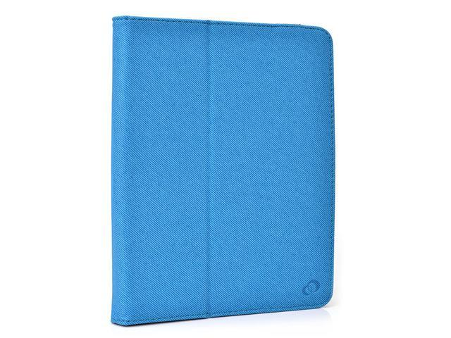 Kroo Blue 8 to 10 Inch Universal Tablet Folio Case with Camera Fold