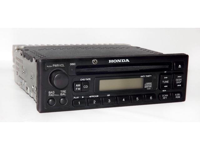 Honda 98-02 Odyssey Van Accord Car AM FM CD Radio w Aux Input for iPhone Android