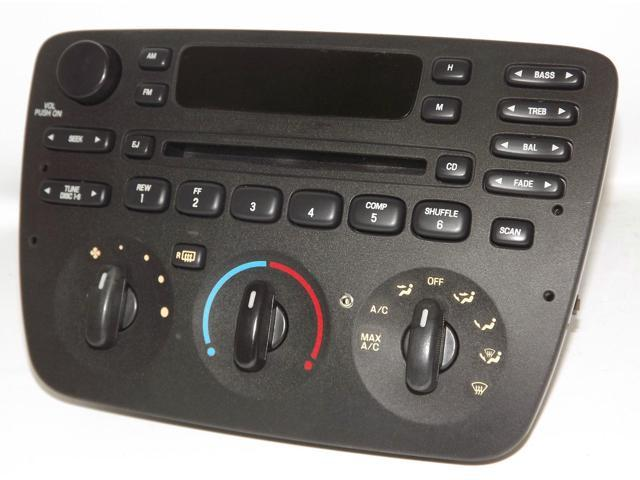 Ford Taurus 2000-2004 AM FM CD Radio with Aux Input for iPhone Satellite & More