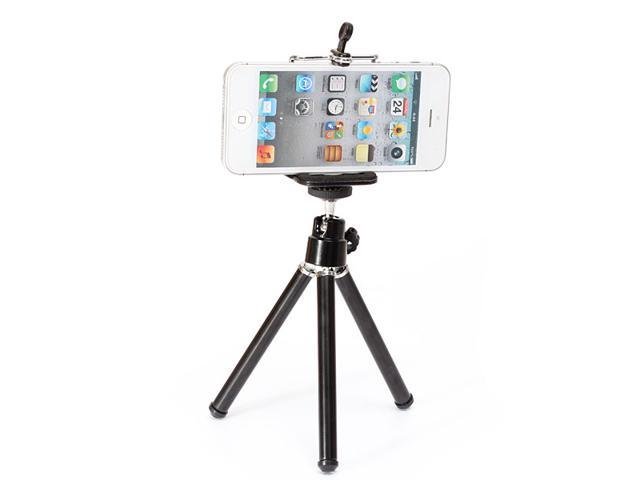 1pc 360? Rotatable Cell Phone Tripod Phone Stand Holder Mount for iPhone 4 4s 5 Samsung Nokia Lumia 920 HTC