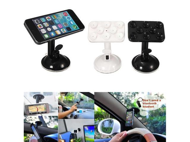 720° 10x7cm Rotating Stand Holder Car Windshield Sucker Mount For Cellphone Tablet GPS