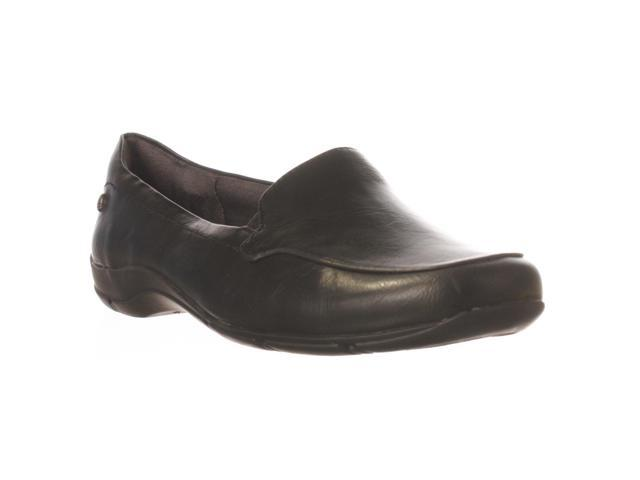 LifeStride Dede Slip-On Flat - Black Amik, 7 W