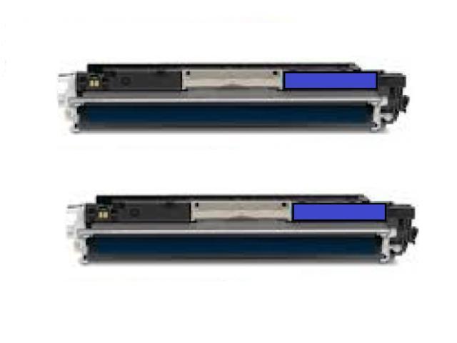 2PK CE311A (126A) Cyan Toner Catridge For HP LaserJet Pro 200 MFP M275NW CP1025