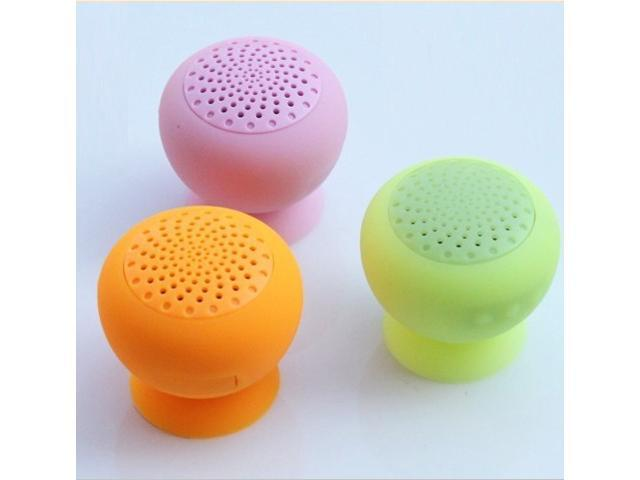 Suction-cup Mini Sucker Bluetooth Speaker For iphone ipad, samsung mobile phones with Bass Xpansion System Jaw-Dropping Audio Performance