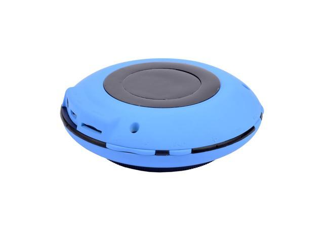Metal And Plastic UFO Shape Rechargeable Wireless Bluetooth Speaker With Built-in Microphone With 360 Degree Omni-directional Sound