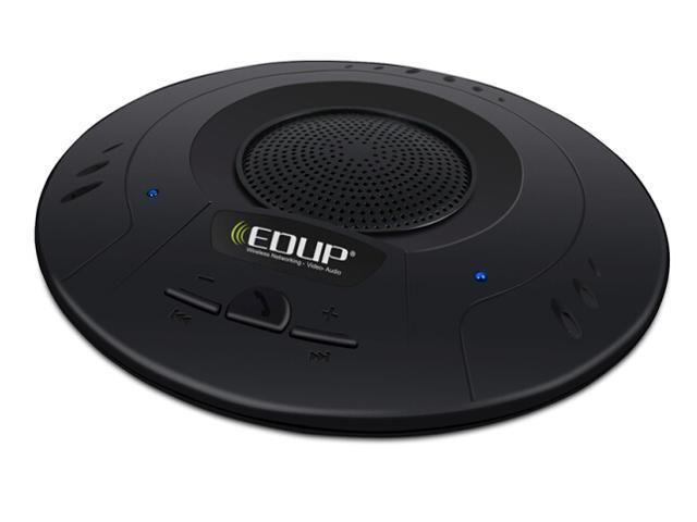 EDUP EP-B3509 No Radiation 2.4GHz 10M MIC Speaker Stereo Voice UFO Bluetooth A2DP Conference System Music Receiver D2301A