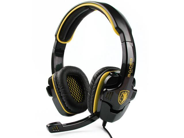 Original SADES SA-708 Game Earphones Voice Headset Gaming Headset Stereo Bass Headphone Earphone With Micphone For Computer Gamer