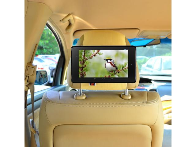 TFY Car Headrest Mount for Google Nexus 7 2nd Generation Tablet, Fast-Attach Fast-Release Edition - Beige (Does NOT Fit 2012 Version of Nexus 7)
