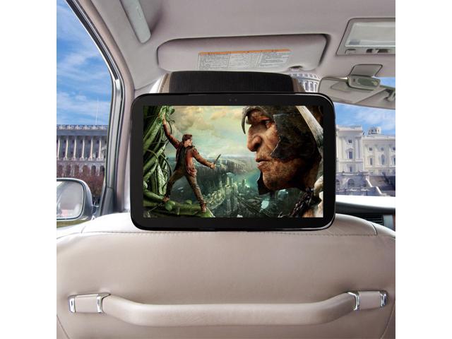 TFY Google Nexus 10 Car Headrest Mount, Fast-Attach Fast-Release Edition, Black