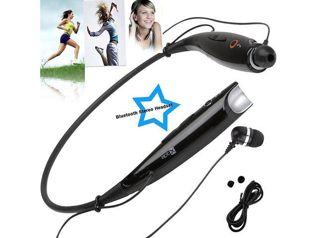 SQdeal® Fashion HBS-730 Neckband Style Wireless Sport Stereo Bluetooth Headset Headphone Earphone for Samsung /iPhone/Nokia/HTC/Moto Mobile Cell ...