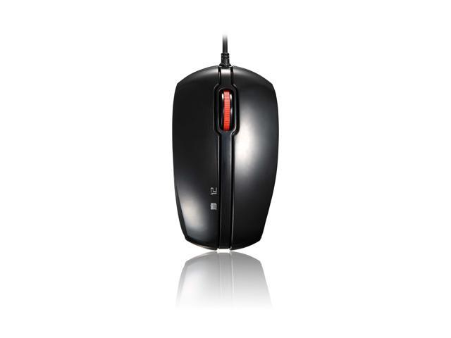 Motospeed F300 Black 4D Fashional Design Hot Sale Optical Wired Mouse for computer accessories With 1000 DPI