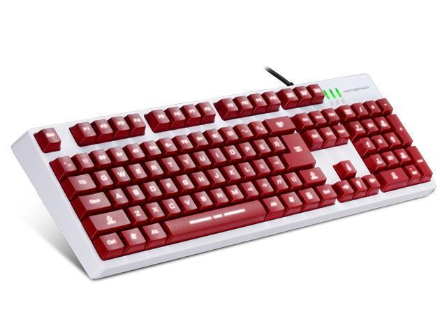 Motospeed USB port Hign-cap 104keys Standard Mechanical Feeling Laser gaming keyboard With Backlight Design Factory Supply