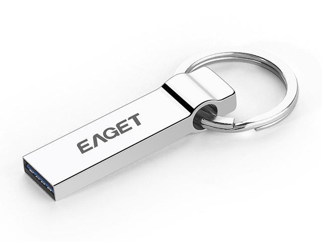 Eaget® New U90 32GB USB 3.0 High Speed Portable External Metal USB Flash Drive, Special Design Key Ring Media Storage
