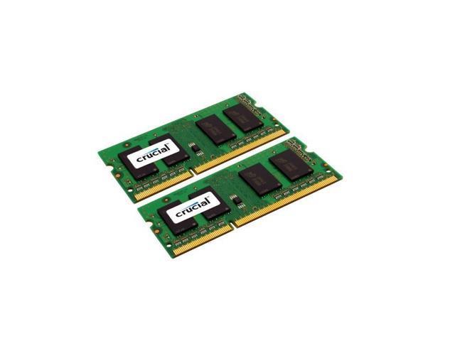Crucial 8GB Kit (4GB x 2) DDR3 1066 MT/s (PC3-8500) CL7 SODIMM 204-Pin Mac Memory CT2K4G3S1067M