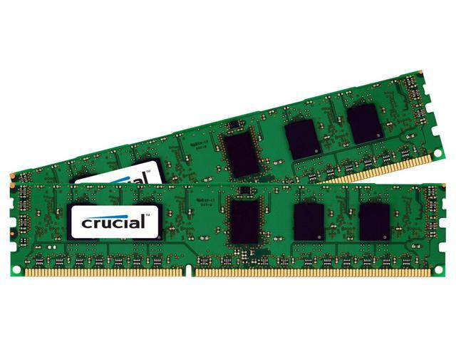 Crucial 4GB Kit (2GBx2) DDR3-1600 MT/s (PC3-12800) Non-ECC UDIMM 240-Pin Desktop Memory CT2KIT25664BA160B / CT2CP25664BA160B