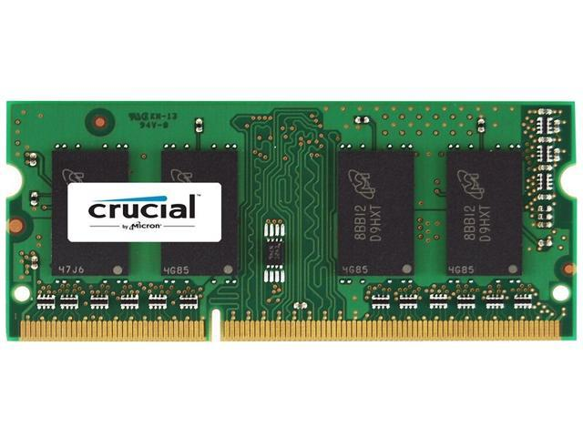 Crucial 4GB DDR3/DDR3L 1066 MT/s PC3-8500 204-Pin Memory for Mac CT4G3S1067M