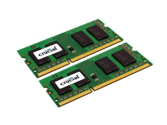 Crucial 8GB Kit (4GBx2) DDR3 1333 MT/s (PC3-10600) CL9 204-Pin SODIMM Memory For Mac CT2K4G3S1339M (Notebook)