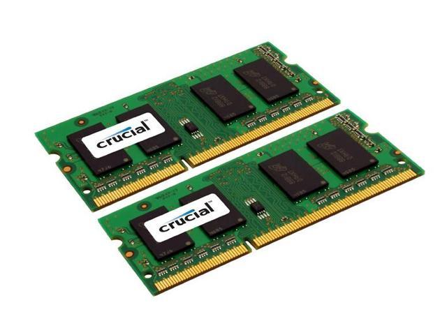 Crucial 4GB (2 x 2GB) DDR3 1333 (PC3 10600) Memory for Apple Model CT2C2G3S1339M