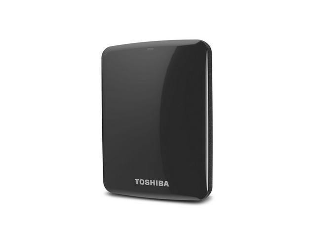 Toshiba Canvio Connect 1TB Portable Hard Drive, Black (HDTC710XK3A1)