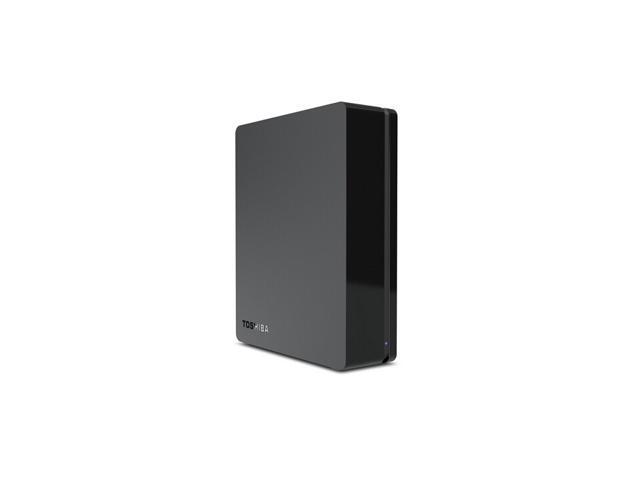 Toshiba 3TB Canvio Desk Desktop External Hard Drive (Black/Black) (HDWC130XK3J1)
