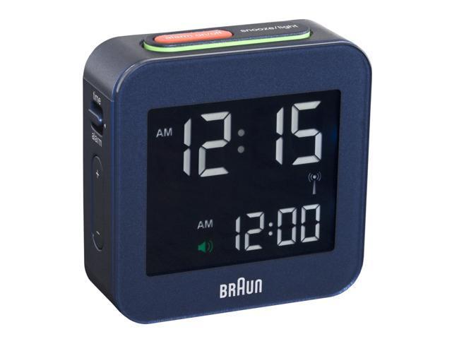 58mm Braun LCD Alarm Clock 008 BL-RC