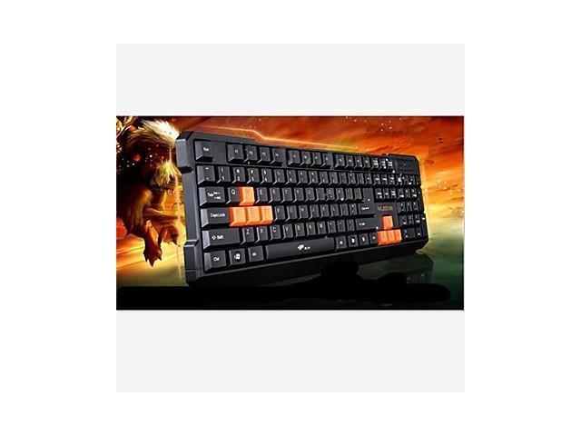 K1 Waterproof Wired Gaming Keyboard