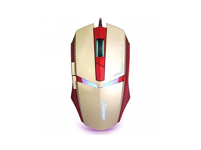 Sunsonny T-M30 USB Wired 6 Button Blue LED Light Gaming Mouse
