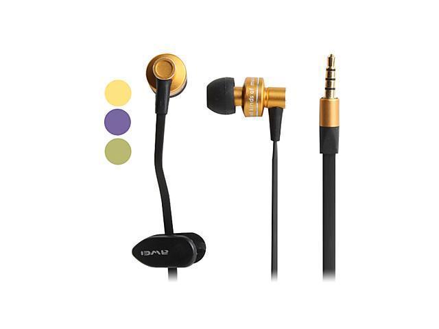 Awei Metallic Style In-Ear Earphones (Assorted Colors)