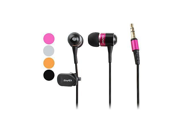 Awei Premium In-Ear Stereo Noise-Cancelling Earphones (Assorted Colors)