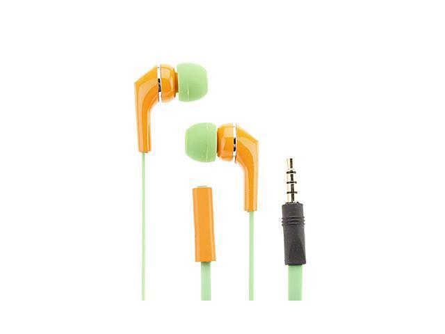 AWEI Cute Colors 3.5mm In-Ear Earphones With 3 Accessories Q8i(4 Colors)