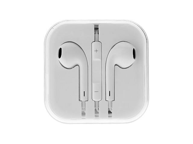 Stereo In-Ear Earphones With Remote Volume Control And MIC For iPhone,Mobile Phone