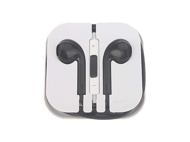 3.5mm Plug In-Ear Volume Control Earphone for Iphone/Ipod/Ipad