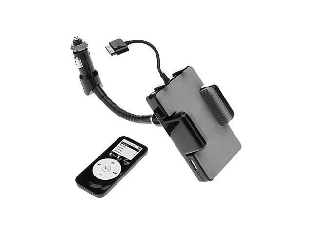 iPhone FM Handsfree Car Kit & iPod FM Transmitter (30pin) Black