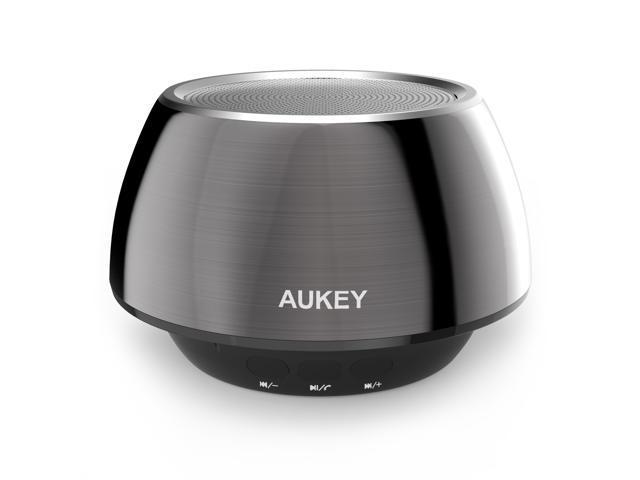Aukey Bluetooth Speaker Portable Wireless Mobile Mini Stereo Speaker, Enhanced Bass Boost, Built in Mic Speaker System, Works for ...