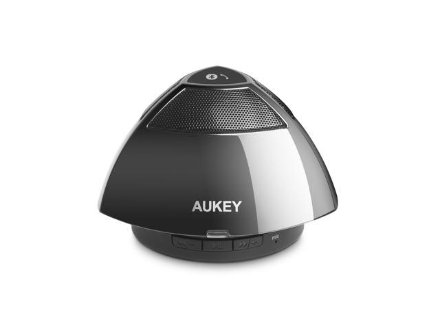 Aukey Bluetooth Speaker Portable Wireless Mobile Mini Speaker, 5W Driver, Enhanced Bass Boost, Built in Mic Speaker System, 8 Hours Playtime, ...