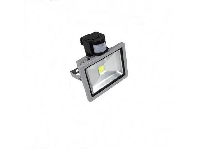 10W PIR LED Flood light Warm White Floodlight Motion Sensor garage lights