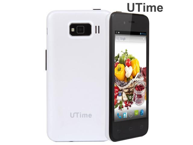 Utime U6 MTK6572 Dual Core 1.3GHz CPU 3G Cell Phone Android 4.2 4.0 Inch 512MB RAM 4GB ROM 0.3MP/2MP Camera Mobile Phone Bluetooth GPS Dual ...