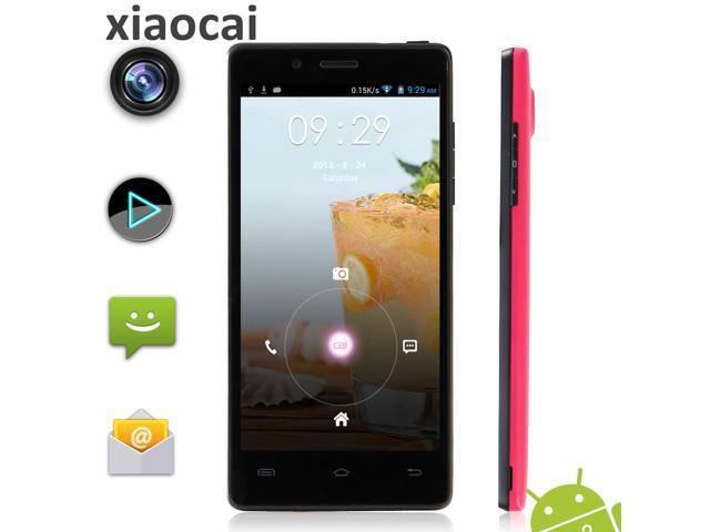 XIAOCAI X9S QHD OGS 4.5 Inch Screen MTK6582 Quad Core 1.3GHz Smartphone Android 4.2 1GB RAM 4GB ROM 8.0MP Camera 3G GPS WiFi Bluetooth G-Sensor ...
