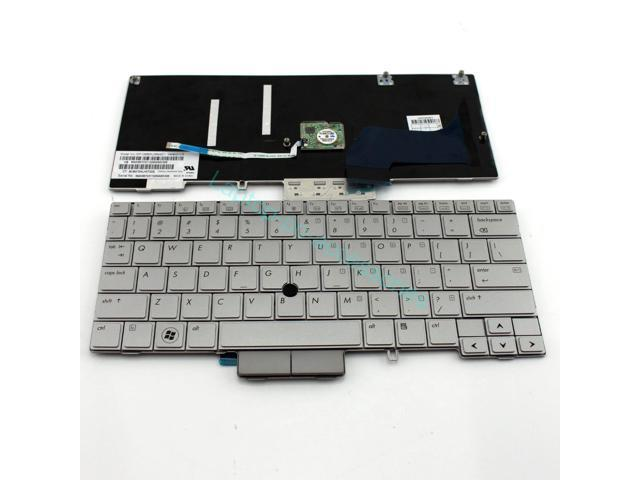 NEW US Keyboard For HP EliteBook 2760P With Point Stick Gray Teclado Series Laptop Notebook Accessories Replacement Parts Wholesale QWERTY