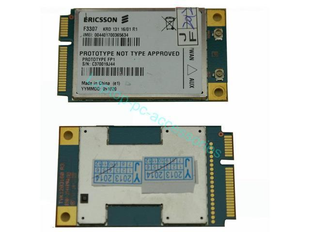 NEW Ericsson F3307 HSPA WCDMA UMTS WWAN For ACER Aspire One & Gateway 3G Card Replacement parts Laptop Notebook Wholesale