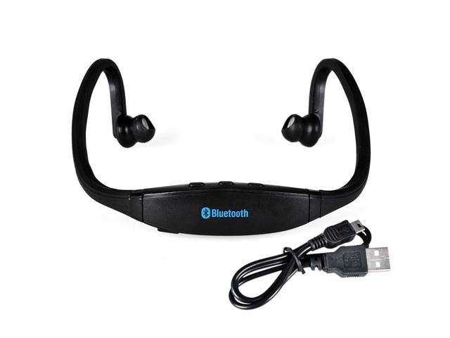 Sports Wireless Bluetooth Stereo Headphone Headset for iPhone 6 6 Plus 5s 5 4s 4 for Black