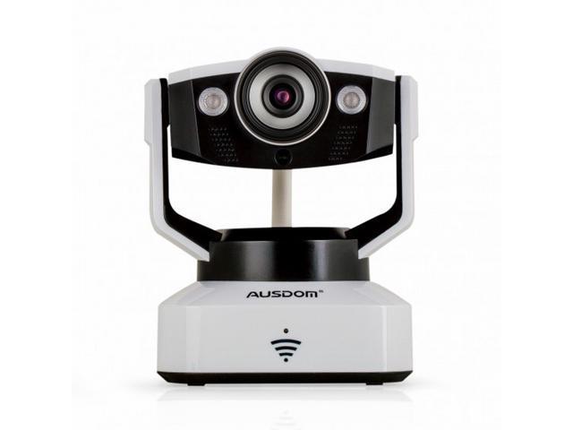 High Quality AUSDOM D2 Wireless IP Camera WiFi P2P HD 720P Cloud Camera Night Vision Pan/Tilt Two Way Audio Security Camera