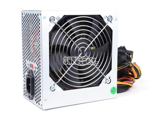 NEW Rated Power 500W Gaming 120MM Fan Silent ATX Power Supply PSU 12V