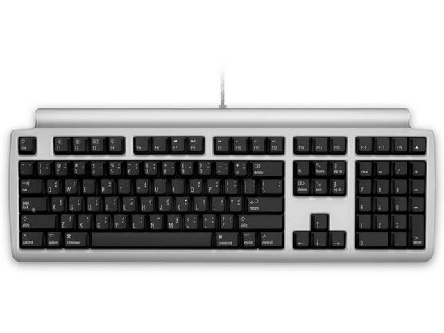 Matias Quiet Pro Keyboard For Mac - Cable - Black, Silver -