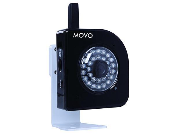 Movo NT4000 720p HD Wi-Fi Enabled IP Network Camera with Motion/Audio Detection & Day/Night Infrared (Black)